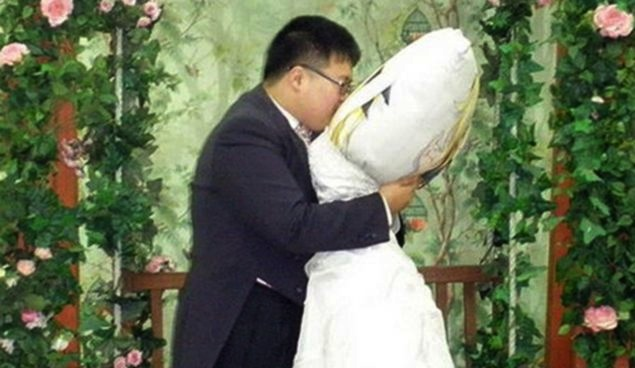 WEIRD WEDDINGS! 'JAPANESE MAN MARRIES HIS PILLOW' & MORE ...