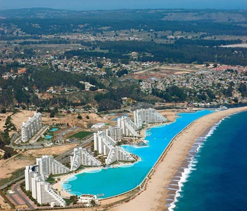 World s largest swimming pool sick chirpse - The biggest swimming pool in chile ...