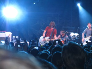 foo fighters at stubbs