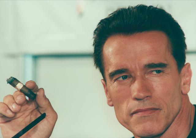 Arnold Schwarzengger Cigar