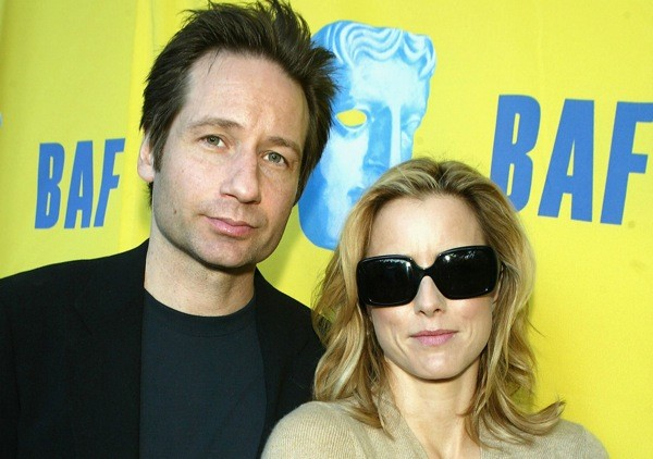 David Duchovny and Tea Leoni