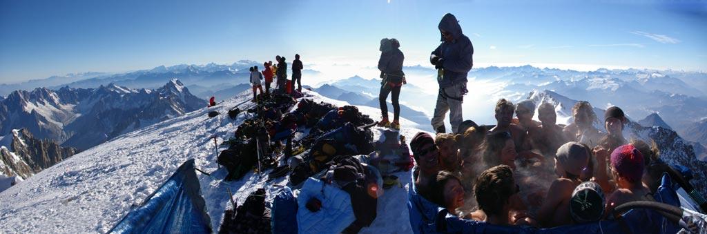 Extreme Jacuzzi Mount Blanc