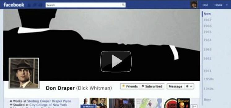 don draper facebook timeline