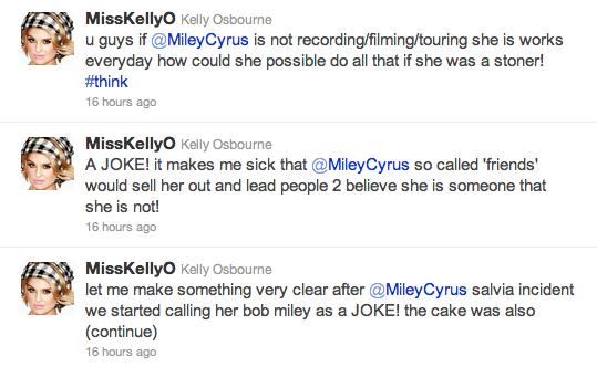 Kelly Osbourne Twitter