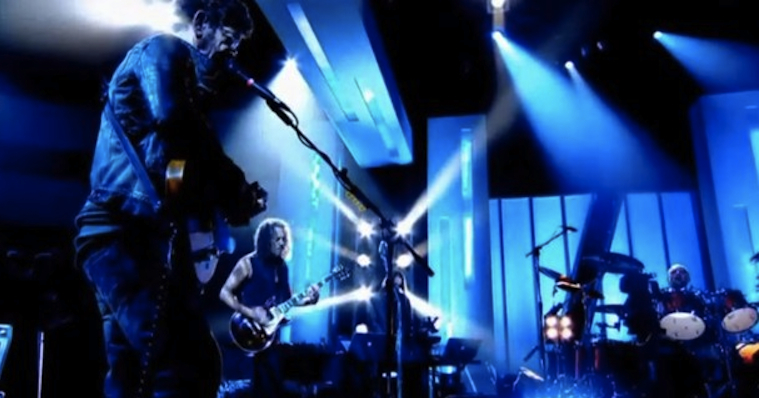 Lou Reed Metallica Jools Holland