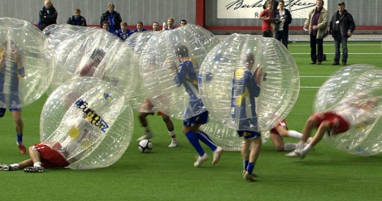 Golden Goal Bubble Football