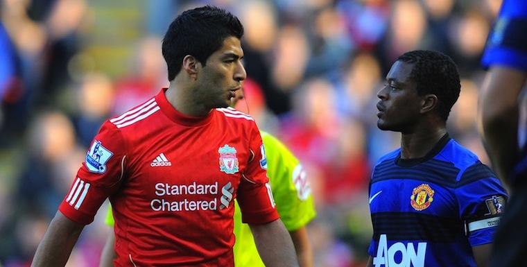 Liverpool+Vs+Man+United+Patrice+evra+luis+suarez
