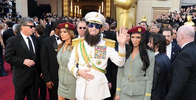 Sacha Baron Cohen Oscars Dictator Borat Ali G
