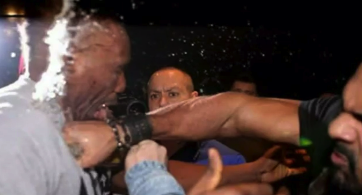 David Haye punch Chisora