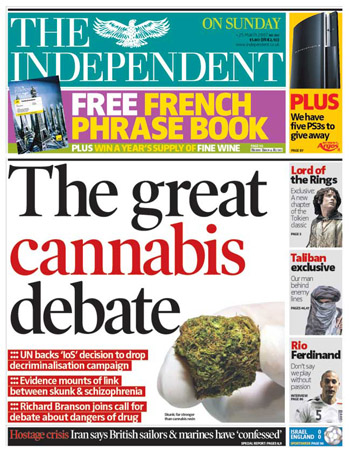 Cannabis-Debate