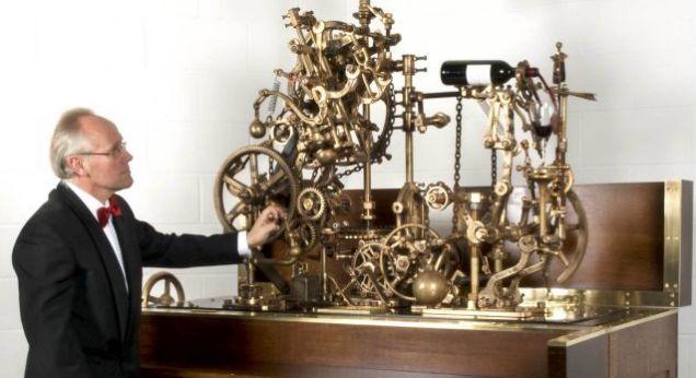 Corkscrew Machine