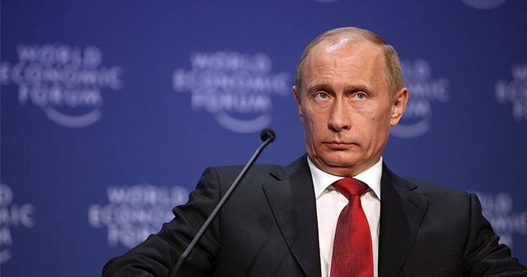 Grumpy Putin