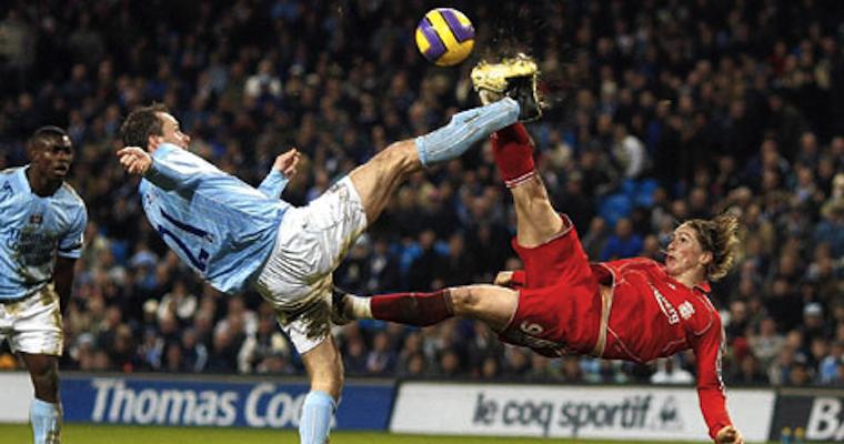 double overhead kick