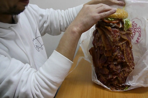 Burger King bacon burger