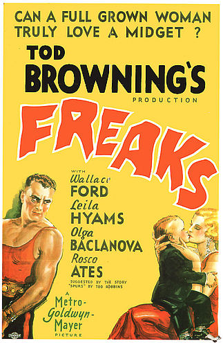 Freaks Film Poster Tod Browning