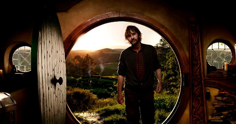 Peter Jackson ruining a Hobbit's doorway.