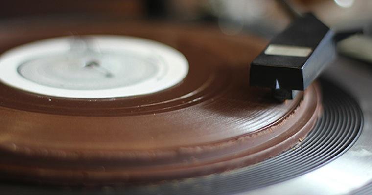 Sweet Sweet Music Vinyl Made From Chocolate Sick Chirpse