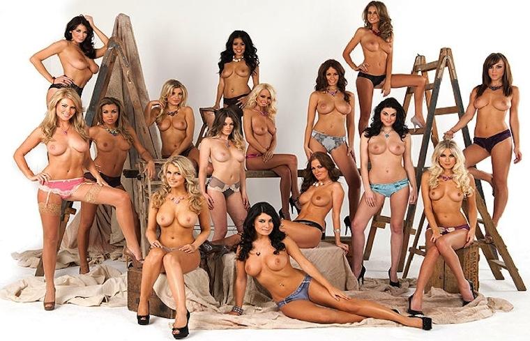 Смотреть видео фотосессии голых моделей