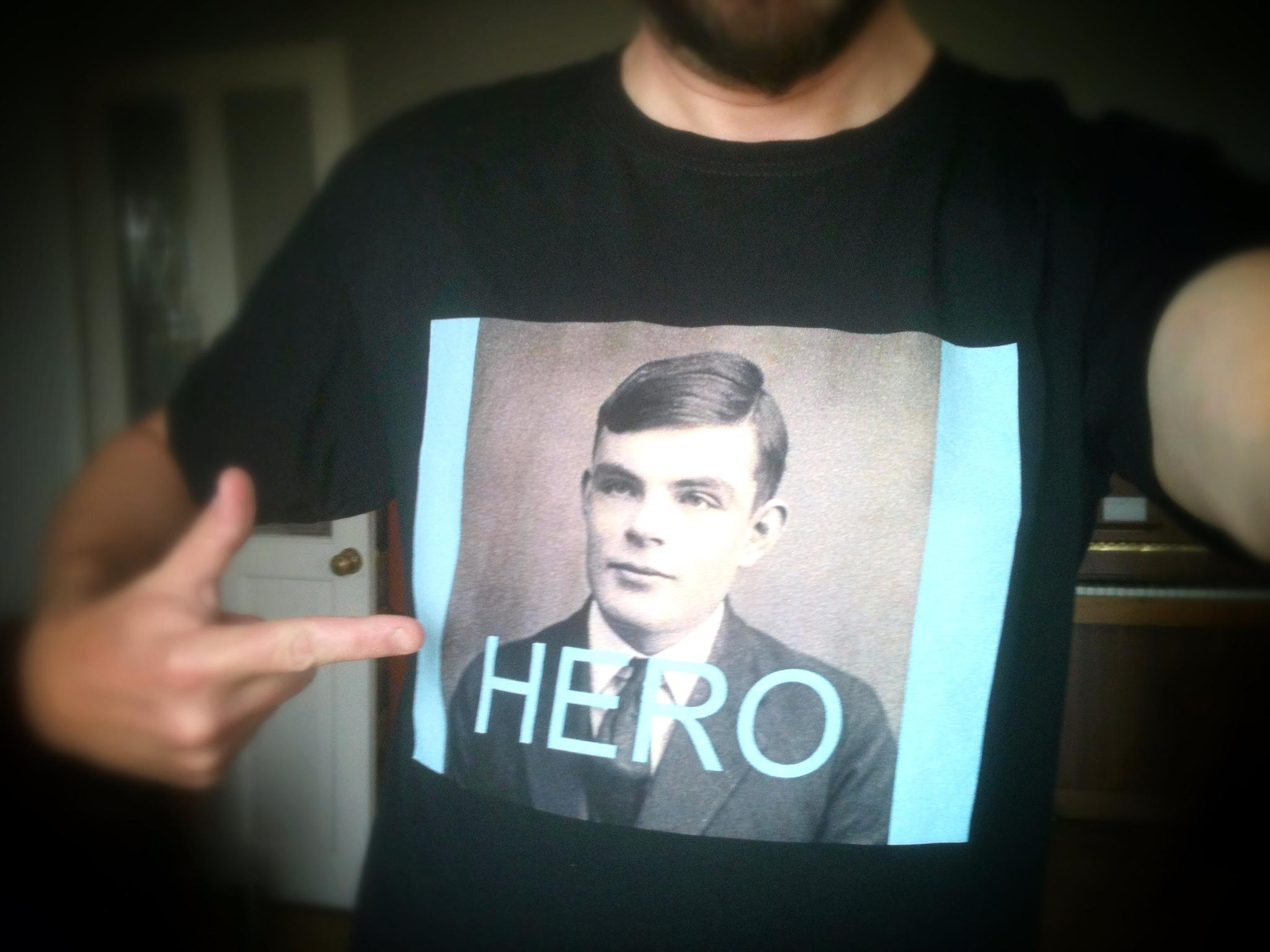 Alan Turing Tshirt
