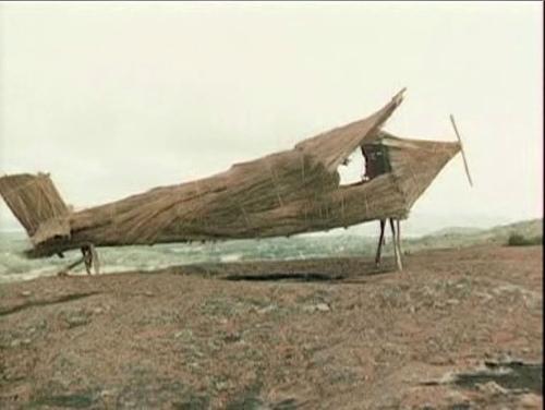 Cargo Cult Wooden Plane