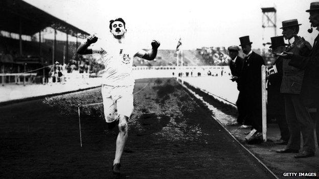 1908 Olympics - Halswelle