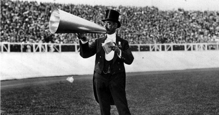 1908 Olympics - Toastmaster