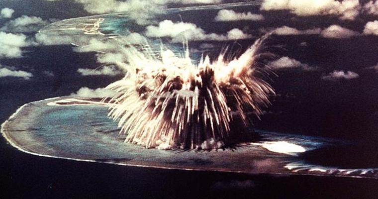 Atom Bomb Test