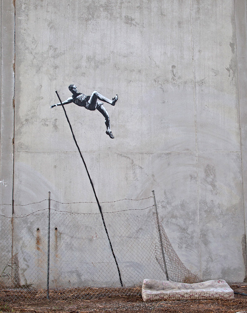 Banksy Olympics 2