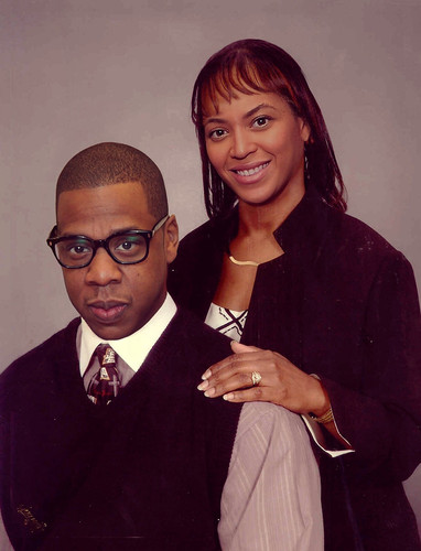 Fat Jay Z and Beyonce