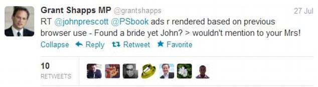 Grant Shapps Twitter