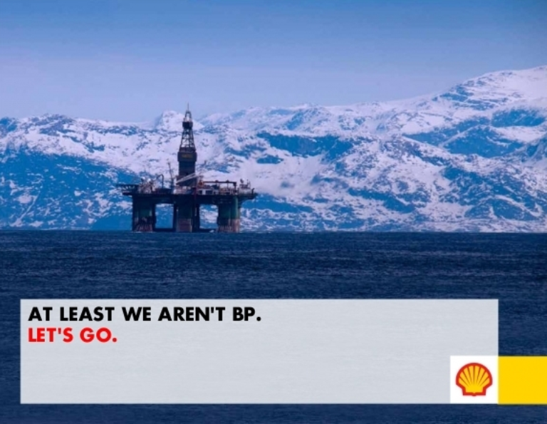 Shell Let's Go Arctic Campaign