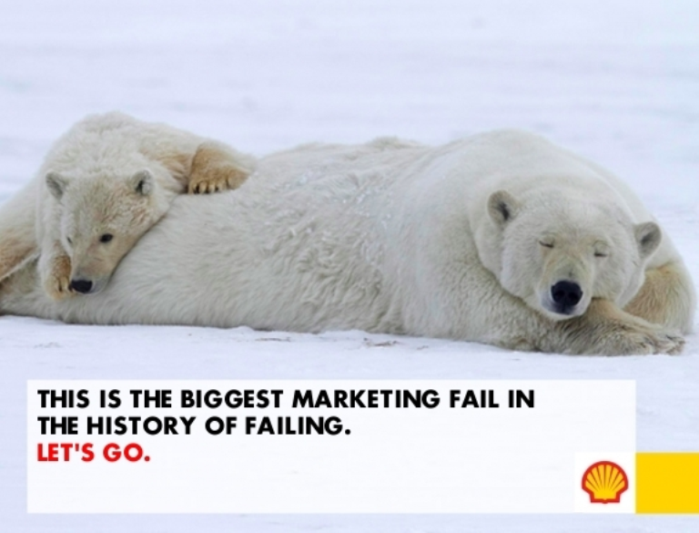 Shell PR disaster advert created
