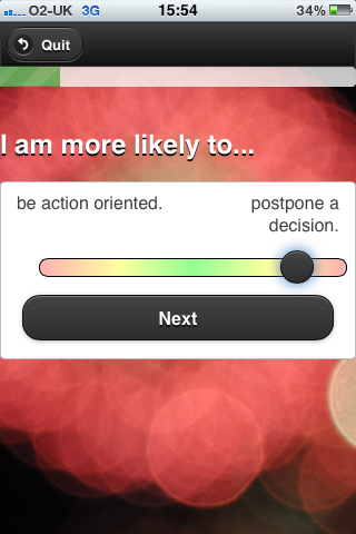 Hue - iPhone App - Question Example - Decision