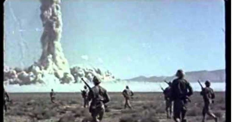 Atomic Test With Human Participants - Nevada