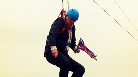 Boris Johnson Zip Line 2