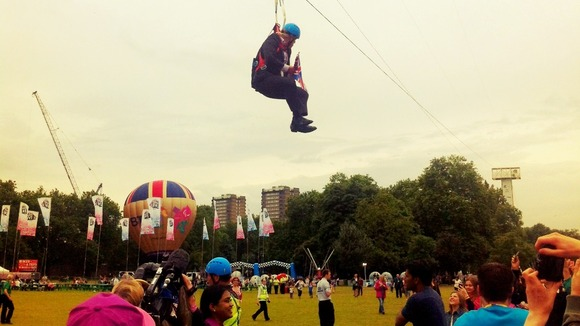 Boris Johnson Zip Line 3