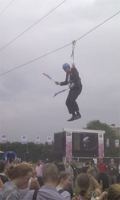 Boris Johnson Zip Line 4