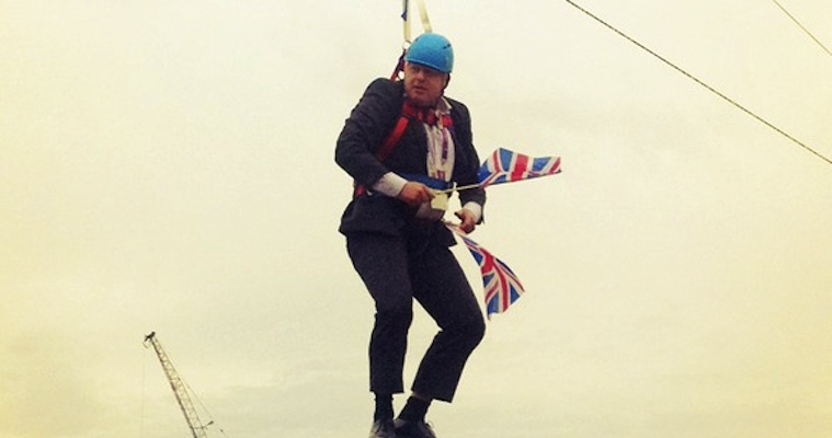 Boris Johnson Zip Wire Featured