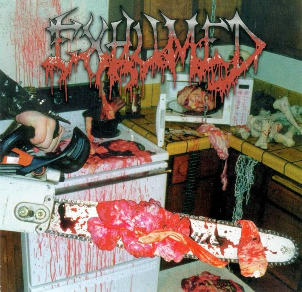 Exhumed- Album Cover Gore