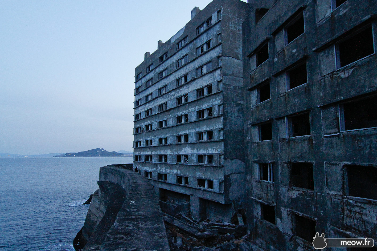 Hashima Battleship Island - From The Sea