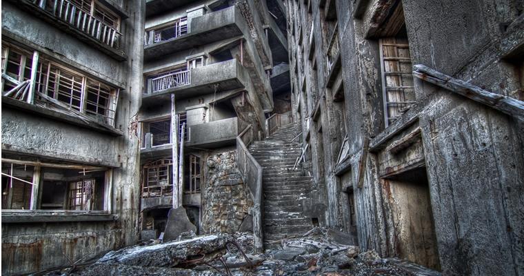Hashima Battleship Island - Stairway to Hell