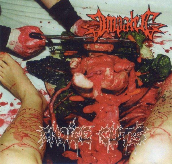 Impaled - Choice Cuts - Gore Album Cover