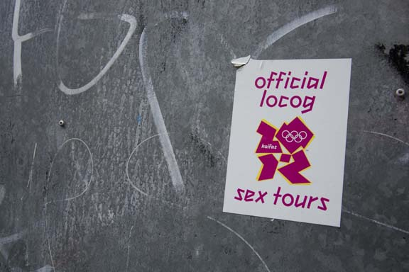 Shit London Olympics - Sex Tours