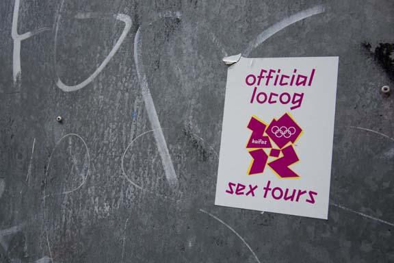 Shit London Olympics - Sex Tours