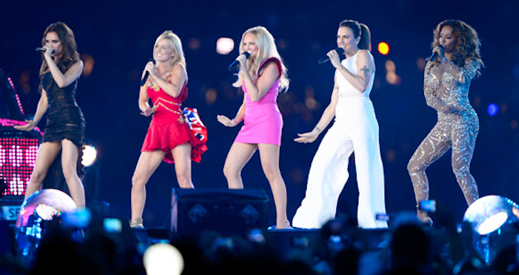 Spice Girls Closing Ceremony