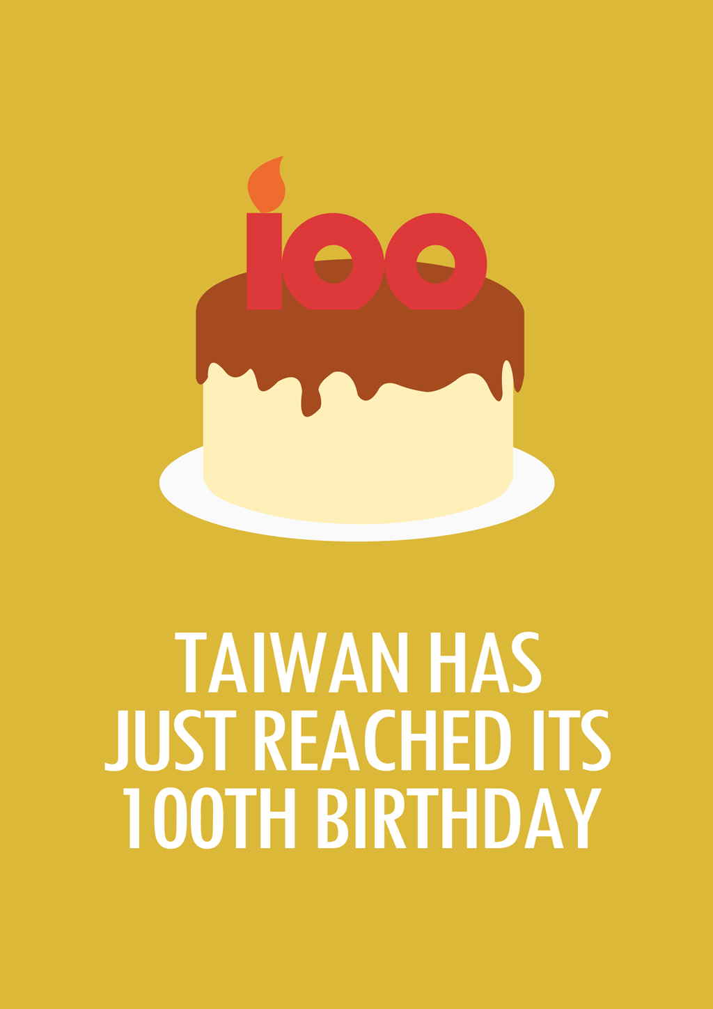 Taiwan Is 100 Years Old