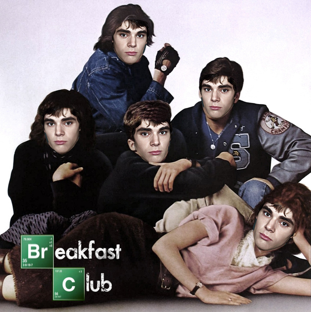 Walt Jr Eating Breakfast