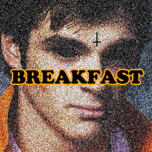 Walter Jr Eating Breakfast
