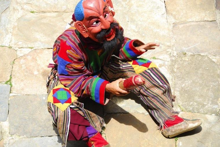 Man Bhutan Phallic Symbol