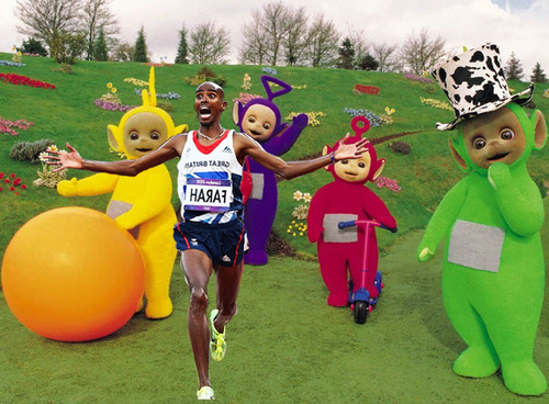 mo farah teletubbies